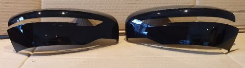FITS NISSAN X-TRIAL 2014+ PAIR OF WING MIRROR COVERS IN GLOSS BLACK